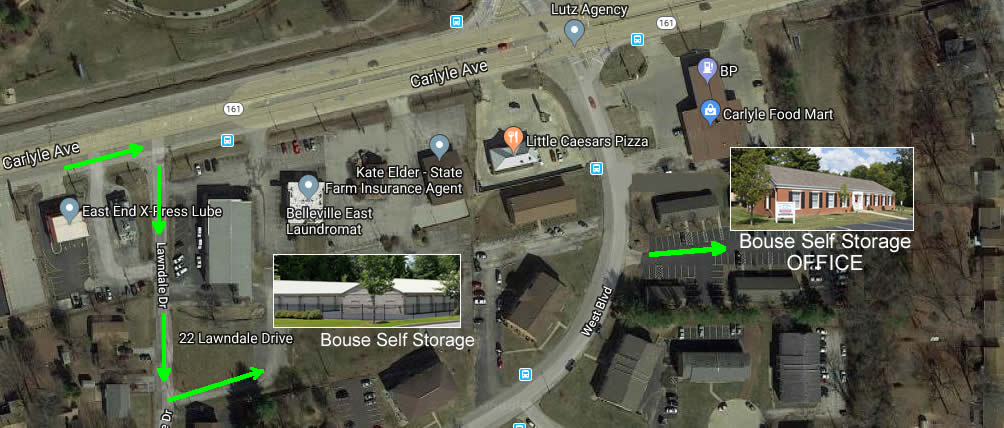 Bouse Self Storage Office