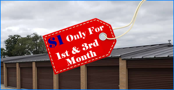 self storage christmas special 2nd and 3rd month free